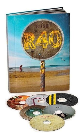 Rush - R40 Box Edition [ 6 Discos Blu-ray ] Lacrado Importad