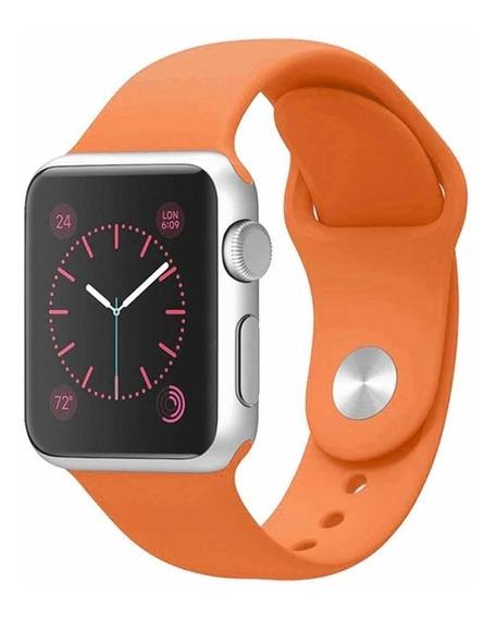 Correa Naranja Apple Watch 38mm 42mm Serie 1 2 3 4 5
