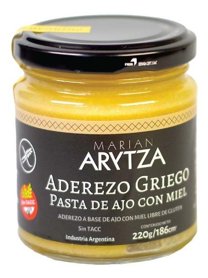 Aderezo Griego Gourmet Arytza Pasta De Ajo Y Miel - Sin Tacc