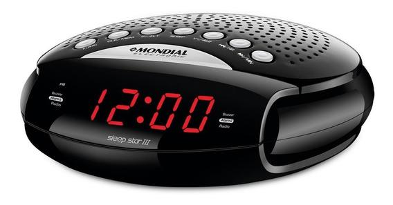 Rádio Relógio Sleep Star Iii Bivolt - Rr-03