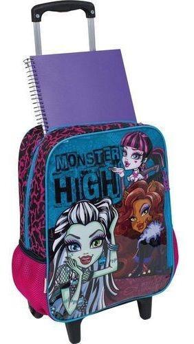 Mochilete Com Rodinhas Infantil Escolar Monster High Sestini