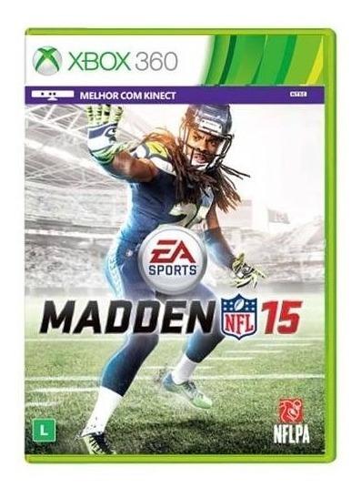Jogo Xbox 360 Madden 15
