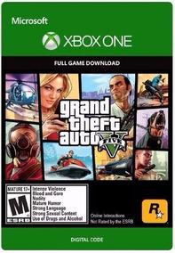 Grand Theft Auto 5 V Gta V 5 Xbox One Mídia Didital Online