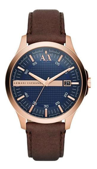Relógio Masculino Armani Exchange Ax2172/0an 46mm Aço Prata