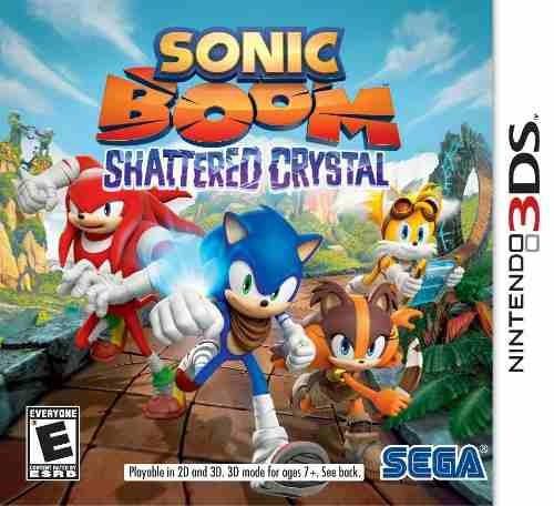 Jogo Sonic Boom: Shattered Crystal Nintendo 3ds
