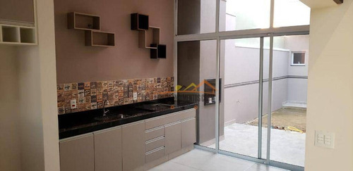 Imagem 1 de 30 de Casa Com 3 Dormitórios À Venda, 105 M² Por R$ 615.000 - Condomínio Village Moutonnée - Salto/sp - Ca1797