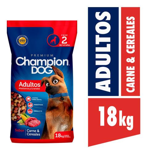 Champion Dog Adulto C&c 18 Kg