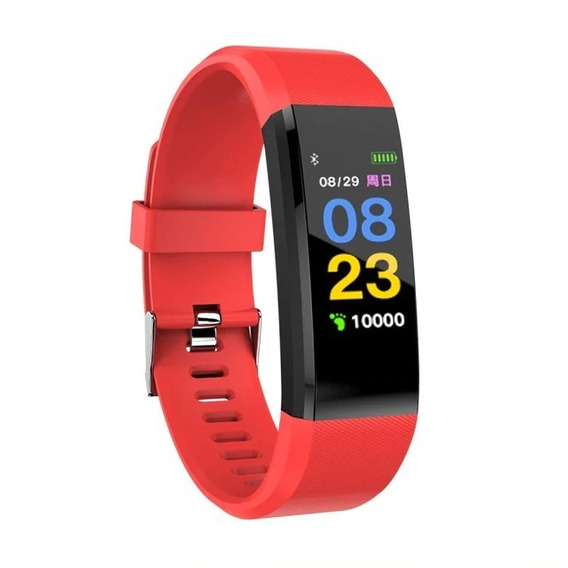 Smart Watch 115 Plus Monitor, Distancia, Calorias, Podometro