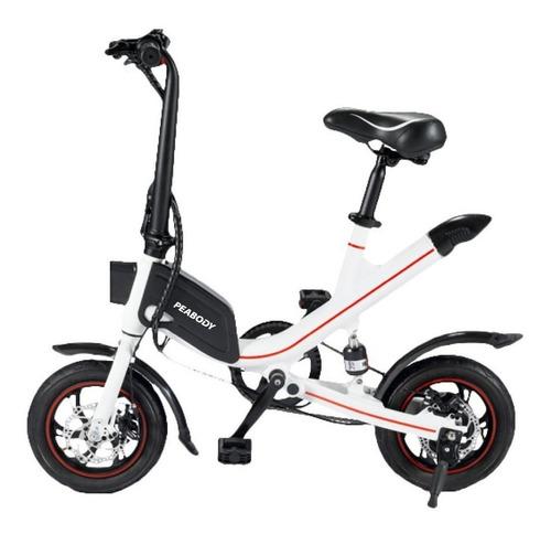 Bicicleta Eléctrica Peabody Aluminio 25 Km 250w 12 Pulgadas