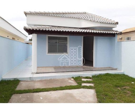 Casa Com 2 Dormitórios À Venda, 88 M² Por R$ 270.000 - Itaipuaçu - Maricá/rj - Ca1212
