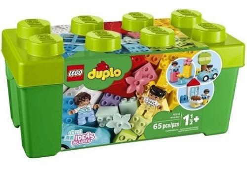 Imagem 1 de 8 de 10913 - Lego Duplo Infantil Educativo Caixa De Peças Verde