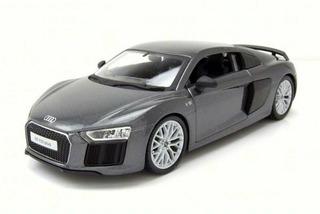 Miniatura Audi R8 V10 Plus (new) Cinza 1:24 Maisto