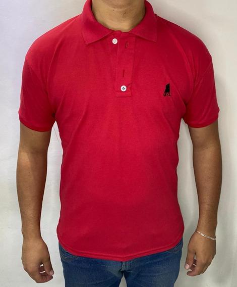 Camisas Polo Masculina Kit C/ 7 Peças