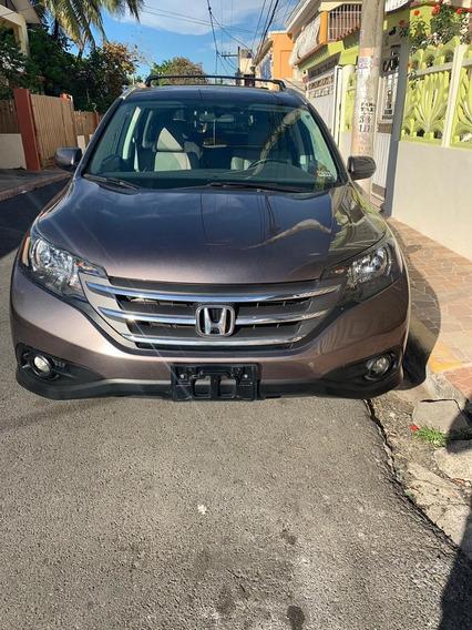 Honda Cr-v 4x4 Ex-l Tanque Lleno Garantía Full 829-633-0280
