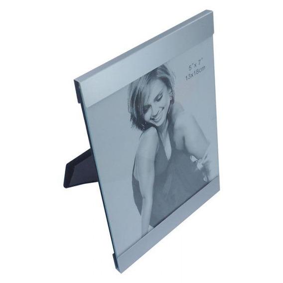 Porta Retratos Fotos Em Alumínio 13x18