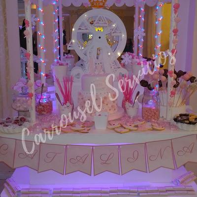 Servicio De Candy Bar Tematico - Carrousel Servicios