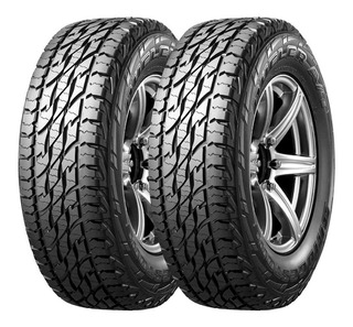 Kit X2 Bridgestone 265 70 R17 118/115s Dueler A/t 697