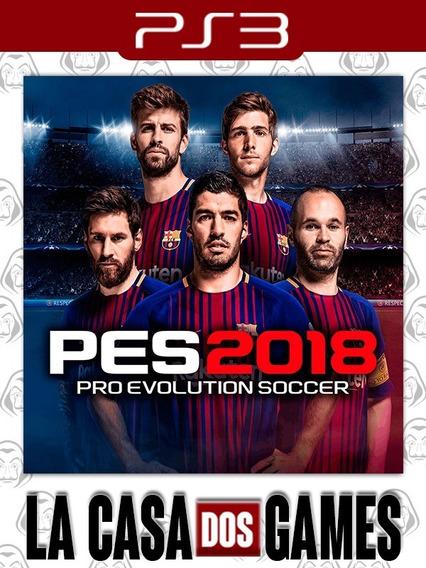 Pro Evolution Soccer 2018 - Pes 18 - Psn Ps3 - Português