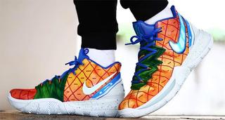 Exclusivo! Zapatillas Nike Kyrie 5 Sbsp Nickelodeon.