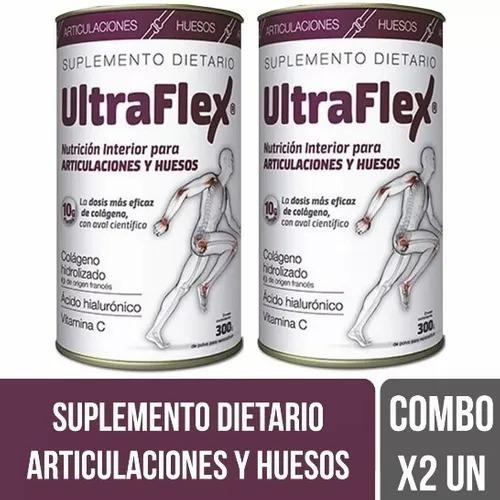 Ultraflex Colageno Hidrolizado Huesos Y Articulacion  X 2 Un