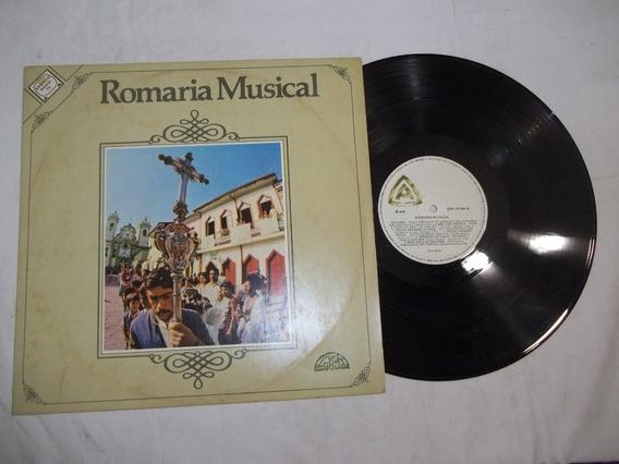 Vinil Lp - Romaria Musical - Renato Teixeira - Vieirinha Etc