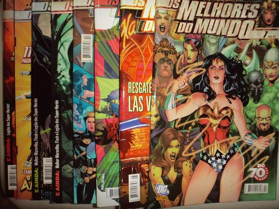Os Melhores Do Mundo 1 A 14 Panini Editora 2008 Excelentes