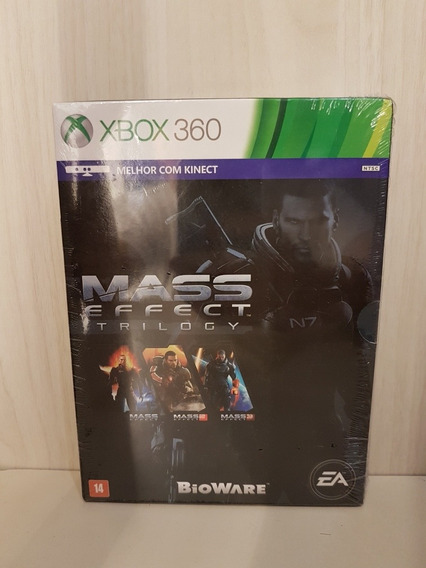 Mass Effect Trilogy Xbox 360 One Trilogia 1 2 3 Lacrado Raro