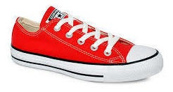Tênis Converse All Star Ct As Core Ox Vermelho Ct00010004