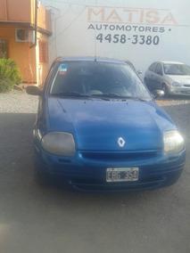 Renaul Clio 1.9 Diesel Pack 4 Ptas 2002 Permuto Moto Mayor $