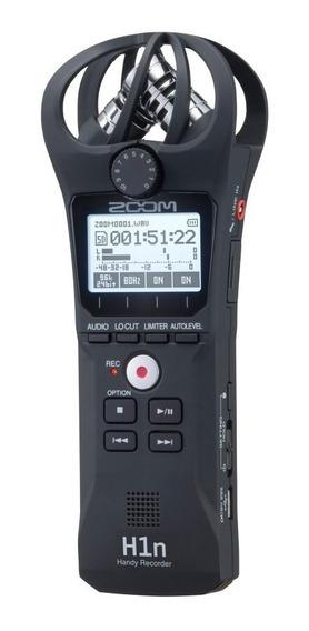 Gravador Digital Zoom H1 N H1n Lançamento 2018