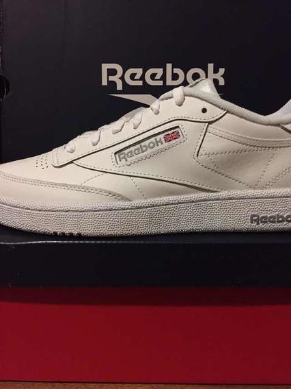Tênis Reebok Classic Club C 85 Original Branco Masculino