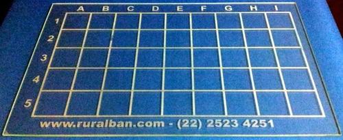 Placa De Vidro Para Exame De Brucelose