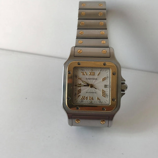 Reloj Cartier Santos Combinado Automático Papeles