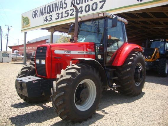 Trator Massey Ferguson Mf 680 Advance