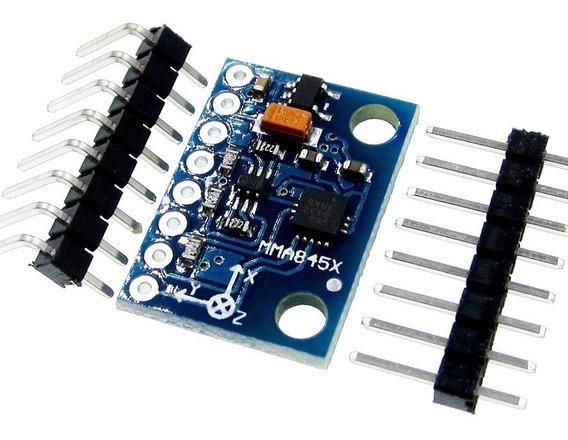 Arduino Módulo Digital Acelerômetro Triaxial Mma8452q