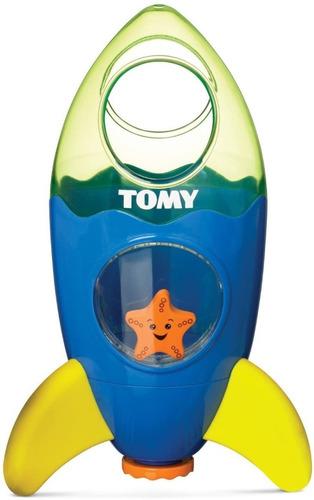 Cohete Espacial Juego Para Baño Bebe Tomy 92118 Edu Full