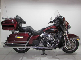 Harley Davidson Electra Glide Classic - 2002 Vermelha