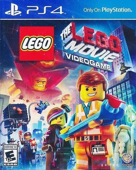 The Lego Movie Videogame - Ps4 - Mídia Física