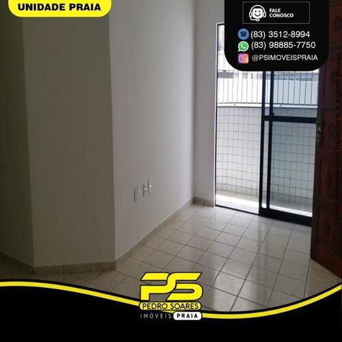 Apartamento Com 3 Dormitórios À Venda, 91 M² Por R$ 260.000 - Mangabeira - João Pessoa/pb - Ap4502
