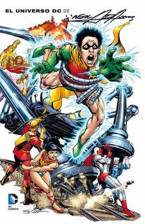 El Universo Dc De Neal Adams - Dc Ecc Comics - Robot Negro
