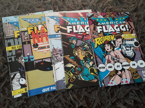 American Flagg Lote Com 5 Revistas Em Excelente Estado