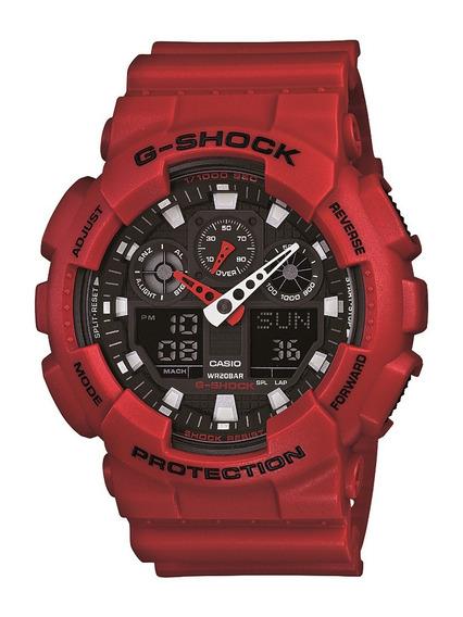 Relógio Masculino Original Casio G-shock Ga-100b-7adr