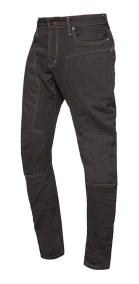 Jean Pantalon Moto Protecciones Nto Denim 250cc Negro