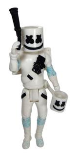 Figura Dj Marshmello 25.5cm Mascara Martillo Con Luz Led