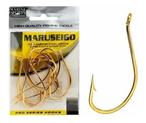 Anzol Maruseigo Gold Nº22 Cart.25pçs - Marine Sports