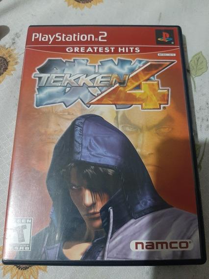 Tekken 4 Ps2 Original Americano