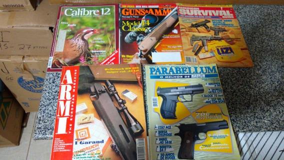 O - 5 Revistas Armas Parabellum Survival Calibre 12 Armi Gun
