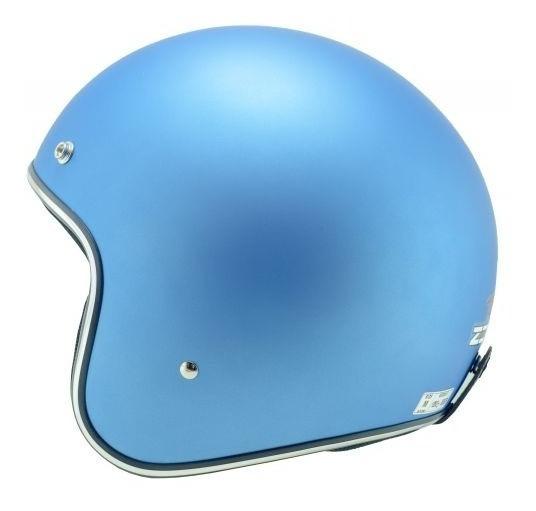 Capacete Zeus 380h Mat Blue Metallic - Zeus