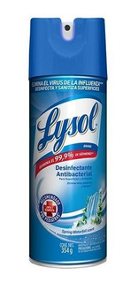 Lysol Aerosol Desinfectante Superficie Ambiente 354g Spray
