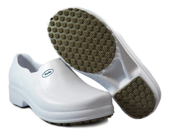 Sapato Antiderrapante Soft Works Bb65 Cozinha Enfermagem
